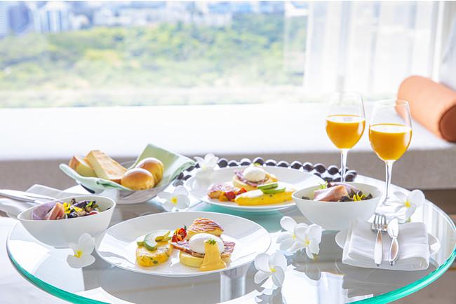 JOURNEY to HAWAII In-Room Gourmet Stay 朝食イメージ(ザ・プリンスギャリー 東京紀尾井町)