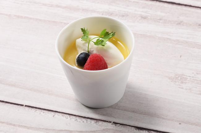 滋賀県産蜂蜜と甘麹の焼きプリン