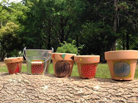 オリジナル植木鉢