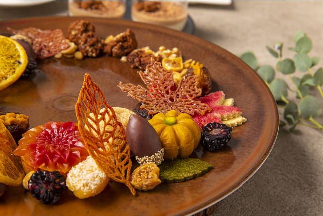 Autumn Leaves-Vegan Afternoon Tea-