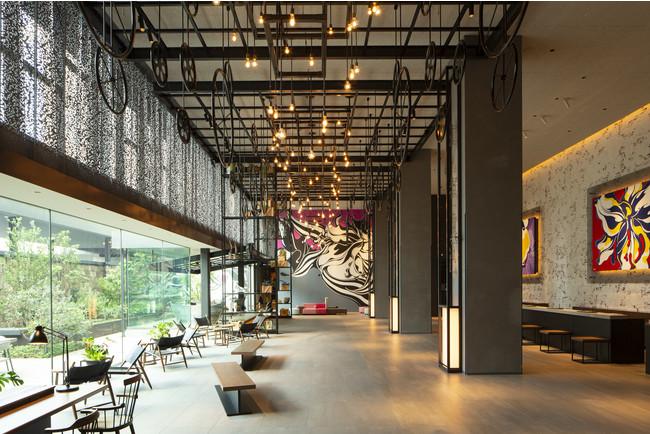 2021年9月に開業1周年を迎えるアートホテル