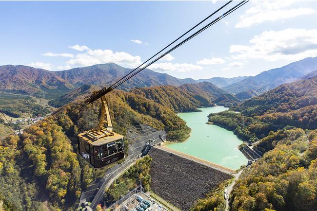日本一の瞬間地上高230m田代ロープウェー