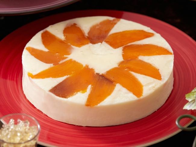 【Season2】柿のレアチーズケーキ