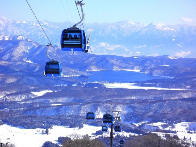 妙高 杉ノ原スキー場 Yukimiゴンドラ(観光ゴンドラ)