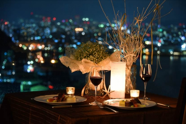 25周年記念ディナー「極」 テーブルコーディネイトイメージ