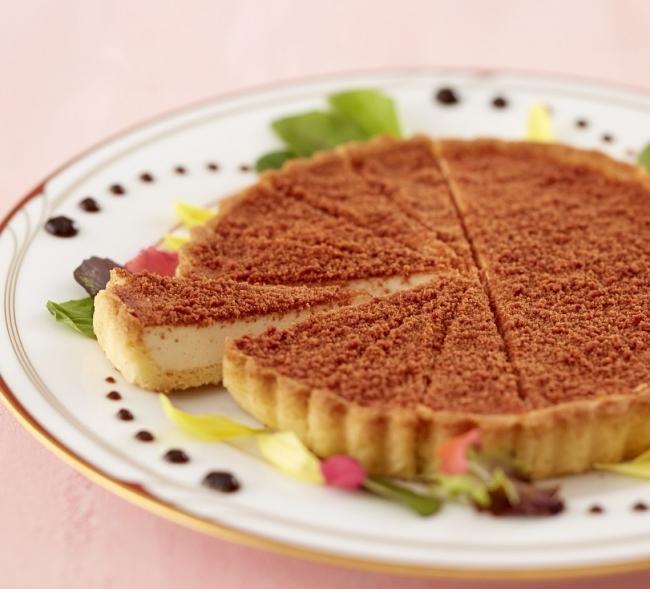 ベーコン風味のレアチーズタルトティラミス見立て イメージ