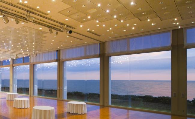 バンケットホール七里ヶ浜からの景色