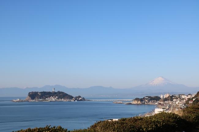 鎌倉プリンスホテルからの景色