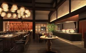 軽井沢プリンスホテル ウエスト「日本料理 からまつ」完成イメージ