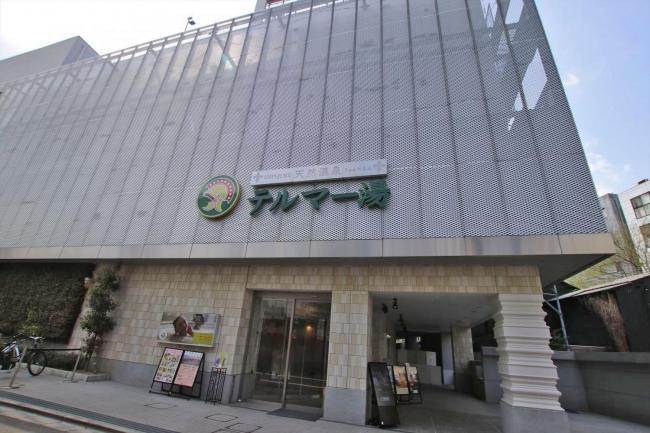 新宿天然温泉 テルマー湯 外観