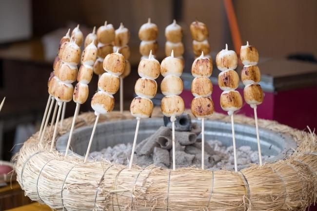 田代高原で地元食材を中心に温かいお食事をご用意しております。