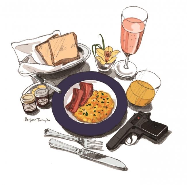ジェームズ・ボンドが愛した朝食を再現(イメージ)