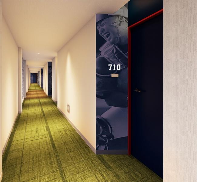 7階廊下【ビクトリーロード】 (イメージ)
