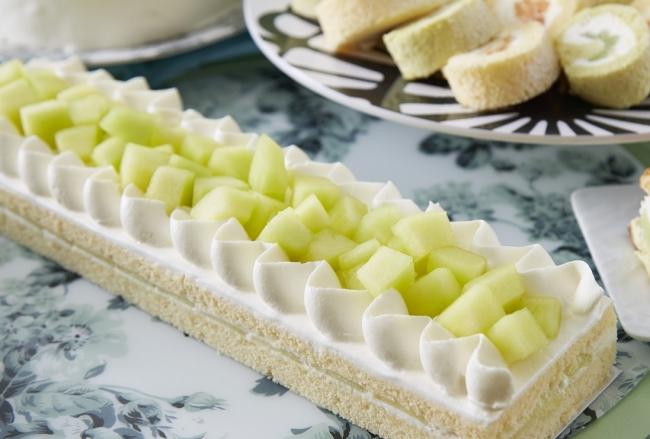 メロンのショートケーキ イメージ(メロンスイーツフェア)