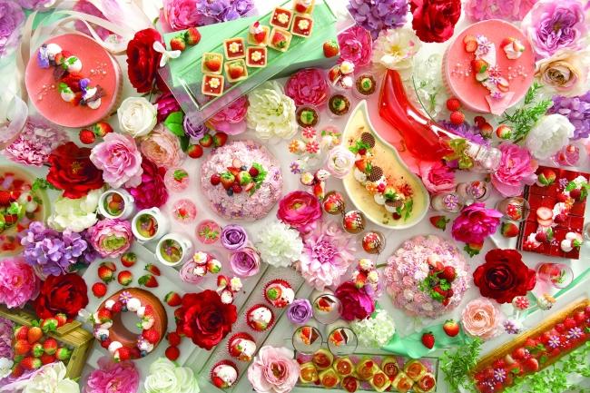 花咲くいちごパーティー イメージ