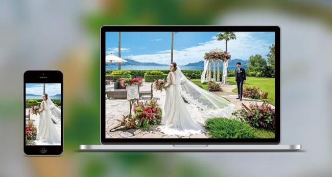オンライン結婚式プラン(イメージ)
