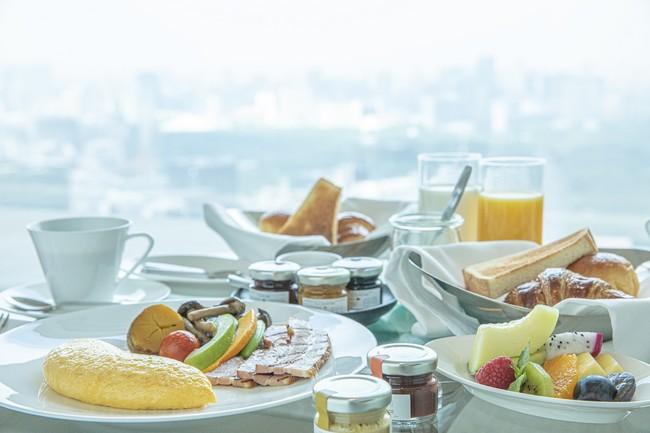 インルームダイニングの朝食(イメージ)