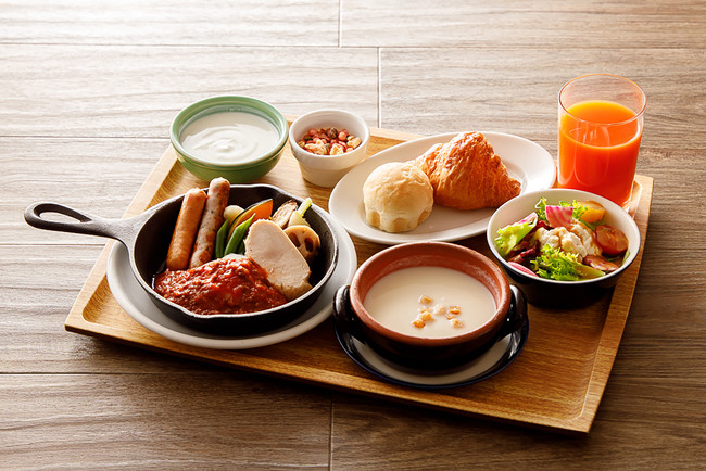 All Day Dining Karuizawa Grill 冬の洋朝食イメージ