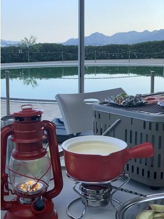 チーズフォンデュ・ホイル焼き(イメージ)