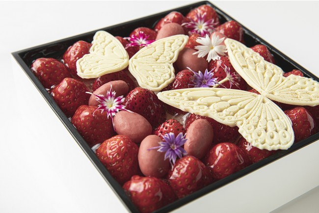 Ecrin de Noel のショートケーキ
