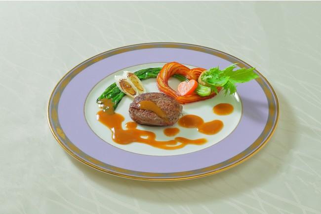小江戸鏡山酒造の酒粕でマリネした 埼玉県産牛フィレ肉のポワレ 埼玉県産野菜と共にイメージ