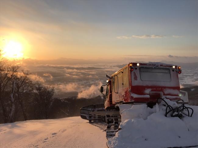 雫石スキー場 サンライズツアー