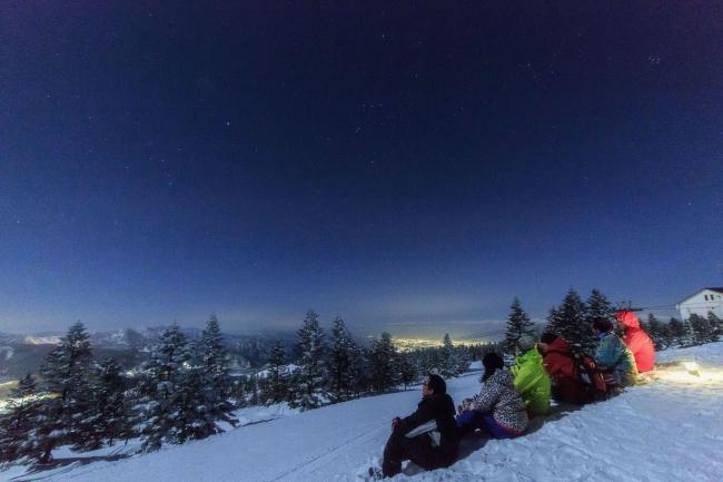志賀高原 焼額山スキー場 ナイトゴンドラ