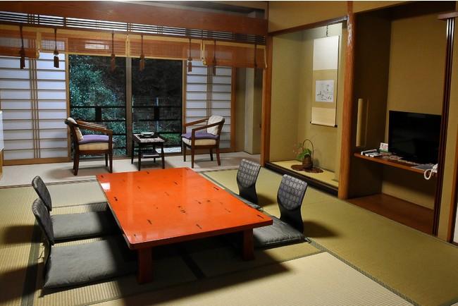 京・貴船 料理旅館「ひろや」個室イメージ