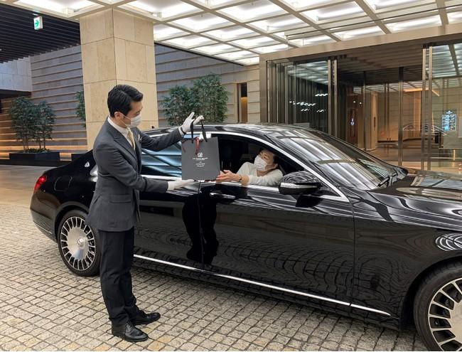 24hドライブスルーサービス イメージ(ザ・プリンスギャラリー 東京紀尾井町)