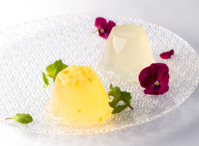 瀬戸内レモン(写真左) 、「福寿」純米吟醸と安富ゆず(写真右)