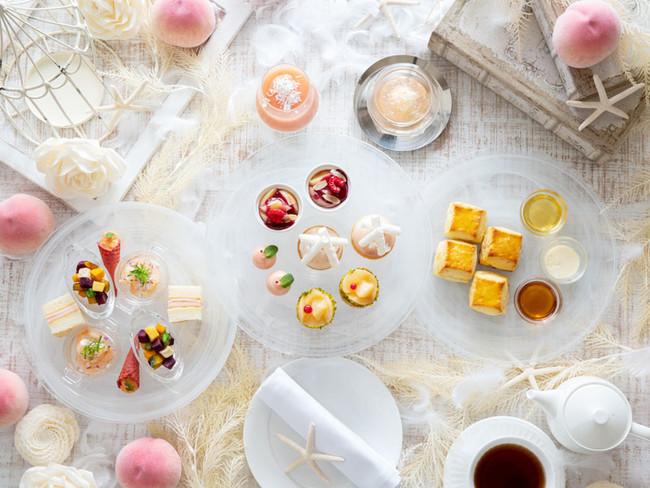 Brilliant Peach Afternoon Tea