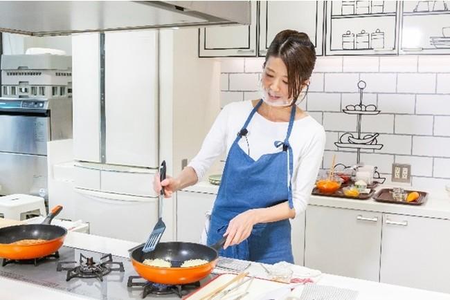 △料理デモンストレーション