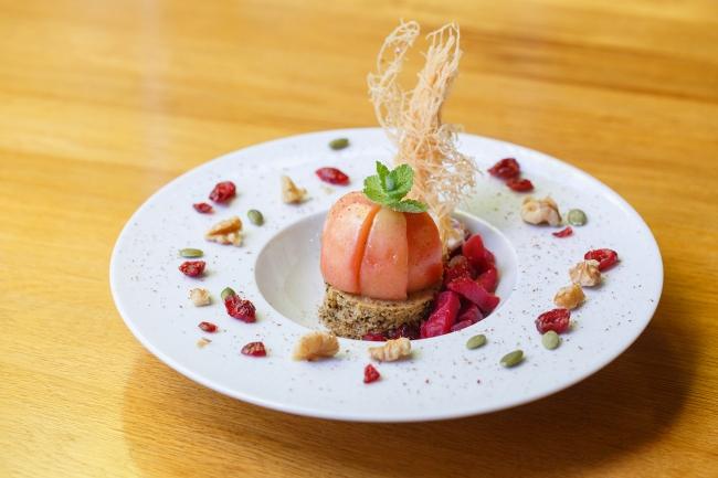 野菜がおいしいレストラン 軽井沢ホテルロンギングハウス