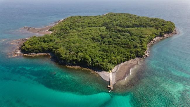 チャーター船でしか上陸できない無人島・妻ヶ島