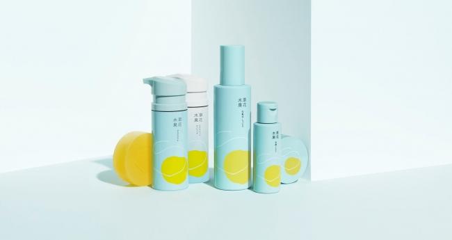 左から 洗顔石けん、マスクジェル、マスクジェル エンリッチ、化粧水しっとり、洗顔ミルク、エンリッチクリーム