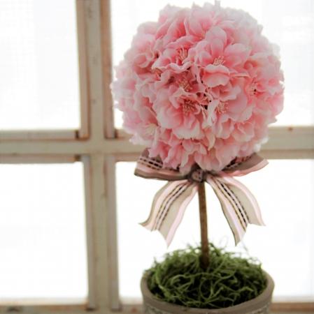 Craftie 香る桜のトピアリーワークショップ