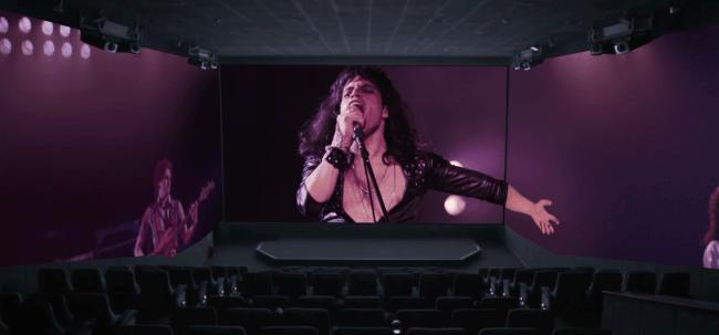 『ボヘミアン・ラプソディ』ScreenX版イメージ