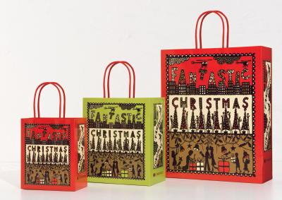 2017年ロブ・ライアン氏のビジュアルを用いたショッピングバッグ