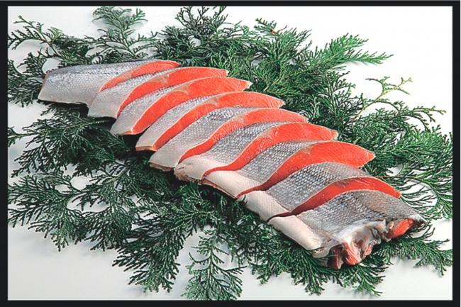 札幌 大幸フーズ 紅鮭半身切身 100パック限り 税込み1480円 ※オープニングサービス