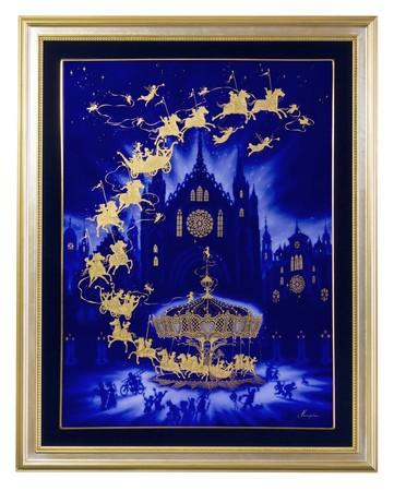 奇跡のメリーゴーランド 大型陶板 7,700,000円(税込み)