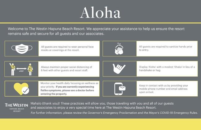 【標識】ホテル内全体に、ニューノーマルな生活様式に対応した対策方法をご案内する標識を設置しています。