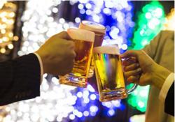 オープン初日からプレミアムなフライデーしちゃいます ザ・プレミアム・モルツ&揚物(フライ)デーに乾杯! 阪急トップビアガーデンにて