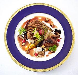 メイン シェフお薦めのジビエ料理のイメージ