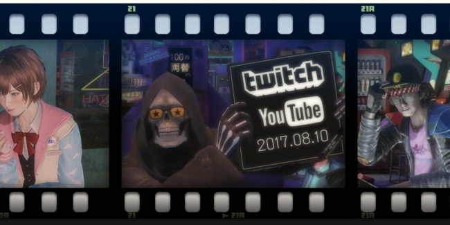 「LET IT DIE Twitch & YouTube ライブ 配信」