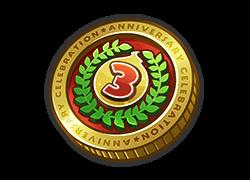 「3周年記念コイン3」
