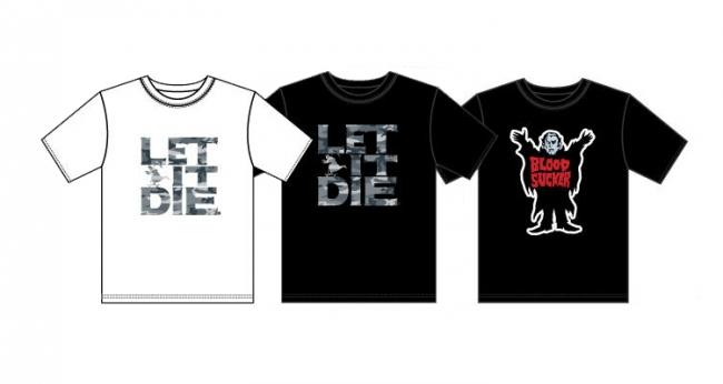 WEGO『LET IT DIE』コラボTシャツ
