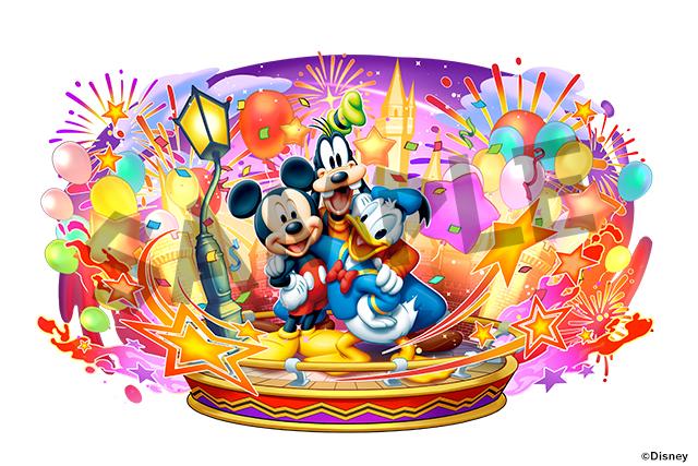 「ミッキーマウス&ドナルドダック&グーフィー」
