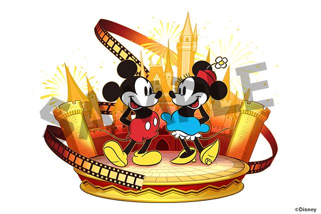 「ミッキーマウス&ミニーマウス【クラシック】」