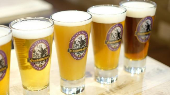 サンクトガーレンの樽生ビールが8種類
