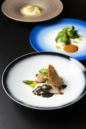 菊水の「庭」から着想を得た「京の洋食」